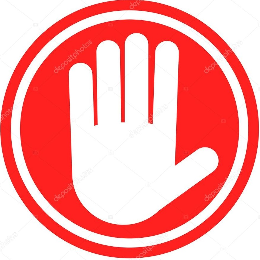 depositphotos 49820683 stock illustration stop sign with human hand